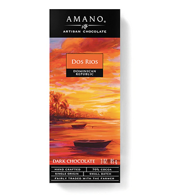 Dos Rios Dominican Republic Single Origin 70% Bar by Amano Artisan Chocolate