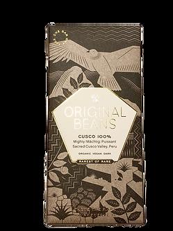 Organic Cusco Chuncho 100% Dark Chocolate Bar by Original Beans