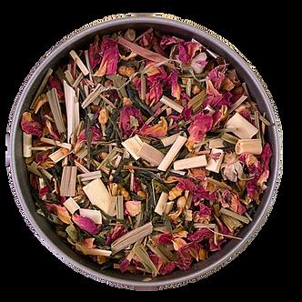 """Geisha's Garden"" Organic Genmaicha Green Tea L (30 serving tin)"