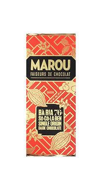 Marou Ba Ria 76% So Co La Den Single Origin Mini Bar