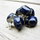 Thumbnail: Blue Gem Ceramic Earrings by Carly Slade