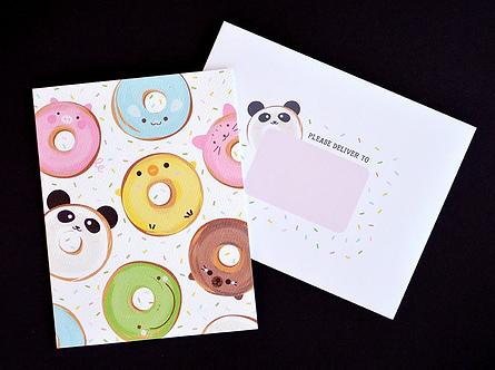 Doughnut Card! by Pennie Post
