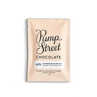 Pump Street Sourdough & Sea Salt 66%  Mini Single Origin(Ecuador, Hacienda Limon