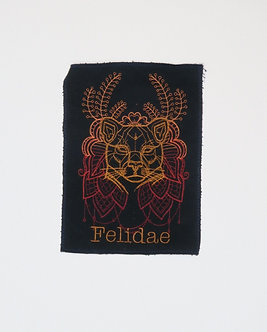 Felidae Embroidered Patch by Erin Salazar