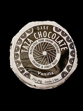 Organic Stone Ground Vanilla 50% Dark Chocolate Discs by Taza Chocolate
