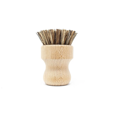 Beechwood Pot Scrubber Brush by The Waste Less Shop