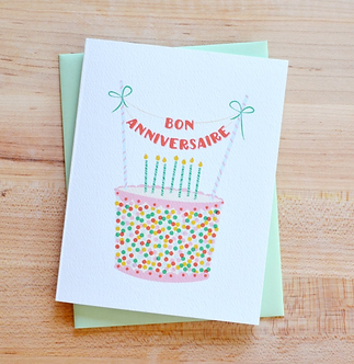 Bon Anniversaire (Cake)