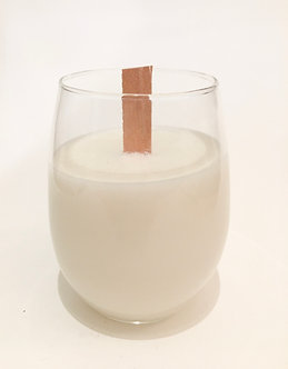 """""""Day Spa"""" soywax wineglass candle"""
