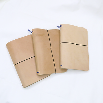 Customized Wayfarer Leather Journal by Jane
