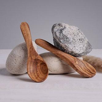 Olive Wood Mask Spoon by Katari Beauty