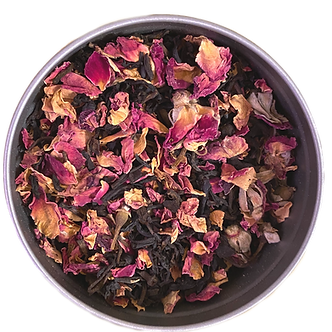 """Chocolate Kiss"" Premium Organic Tea Blend L(30 serving tin)"