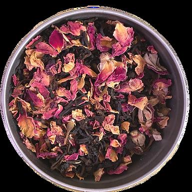 """Chocolate Kiss"" Premium Organic Tea Blend L(30 serving tin)"