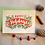 Thumbnail: Happy Holidays Wooden Card by Pennie Post