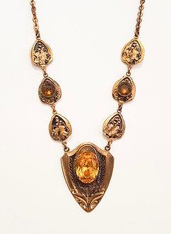 Authentic Art Noveau antique necklace