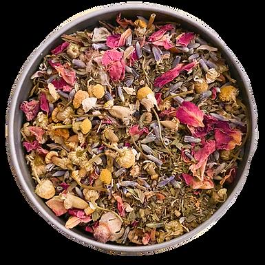 """Healin Myself"" Premium Organic Herbal Tea L (30 serving tin)"