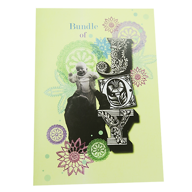 Bundle of Joy Card by Go Jet Go Designs