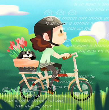 """Bicycle Ride"" by Alice Wong"
