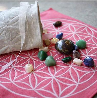 Sacred Geometry Cloth by Diana Pham