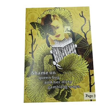 Shame on queen bug Card by Go Jet Go Designs