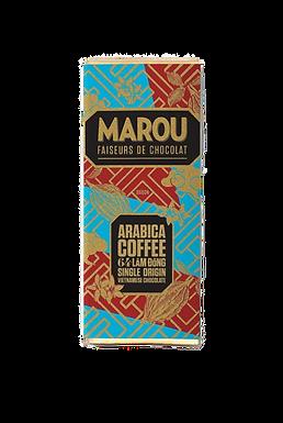 Marou Arabica Coffee 64% Lam Dong Single Origin Mini Bar
