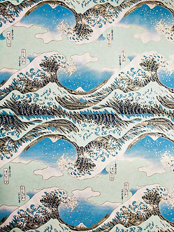 The Great Wave Off Kanagawa #16 Chiyogami Full Sheet (18 x 24 inch)