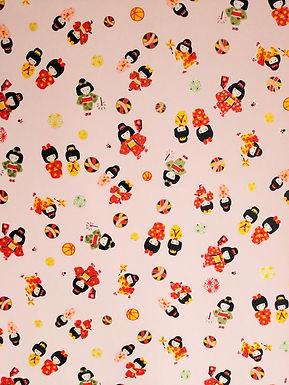 Kimono Girls #4 Chiyogami Full Sheet (18 x 24 inch)
