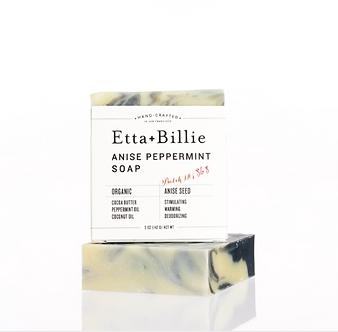 Anise + Peppermint Soap by Etta & Billie