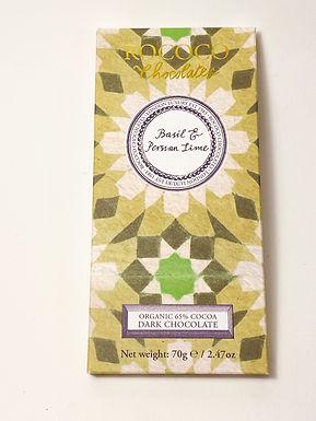 Rococo Basil & Lime Dark Chocolate 65%