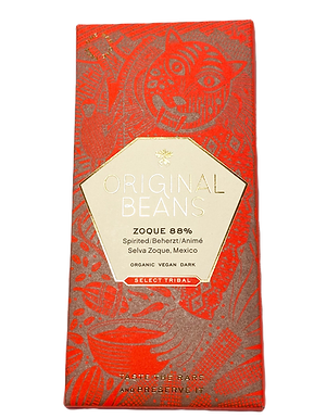 Organic Zoque 88% Dark Chocolate Bar by Original Beans