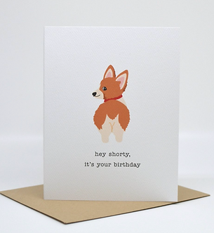 Hey Shorty, It's your Birthday by Pennie Post