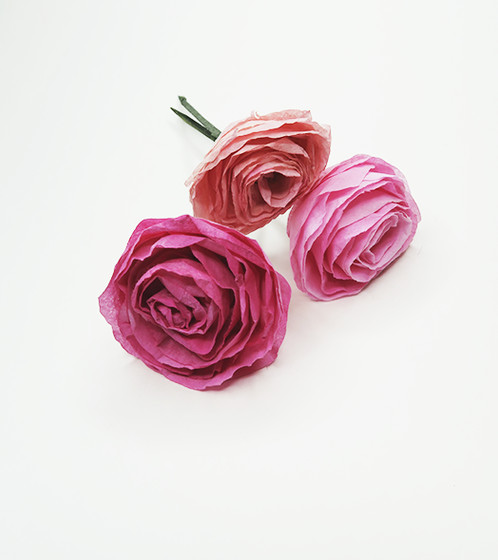 Paper flowers by kathy penn these handmade paper flowers by kathy penn are absolutely charming a lovely token for a special friend or put them in a small vase in the office or in the mightylinksfo