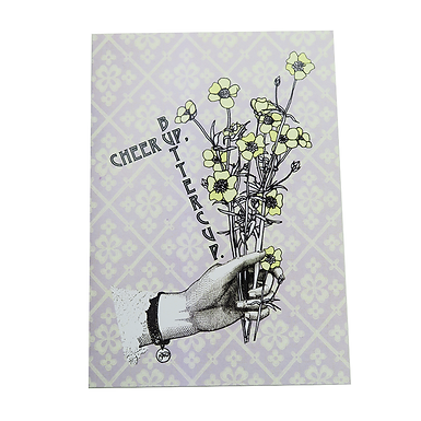 Cheer Up, Buttercup Card by Go Jet Go Designs