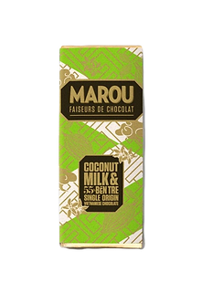 Marou Coconut Milk & Ben Tre 55% So Co La Den Single Origin Mini Bar