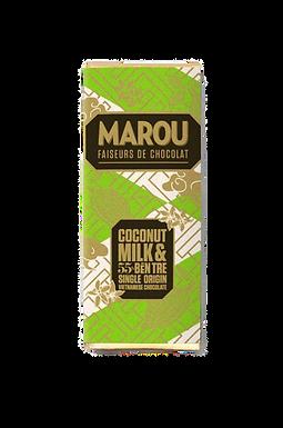 Marou Coconut Milk & Ben Tre 55% So Co La Den Single Origin Mini Bar