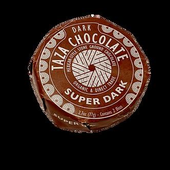 Taza Organic Chocolate Mexicano Super Dark 85% Discs