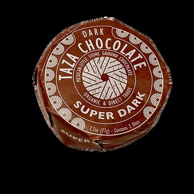 Organic Stone Ground 85% Super Dark Chocolate Discs by Taza Chocolate