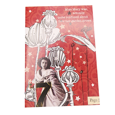 Miss Mary Card by Go Jet Go Designs
