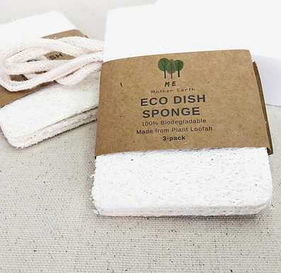 Loofah Dish Sponge( 3-Pack)