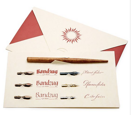 Brause Calligraphy Set