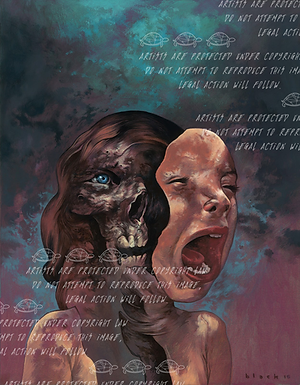 """""""Ghoulish Innards"""" by Steven Russell Black"""