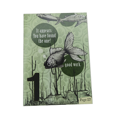 It appears you have found the one! Good work Card by Go Jet Go Designs