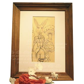 White Rabbit by Tulio Flores