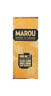 Marou Dong Nai 72% So Co La Den Single Origin Mini Bar