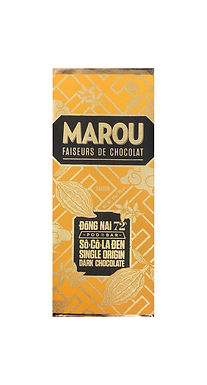 Marou Dong Nai 72% So Co La Den Single Origin Mini Bar