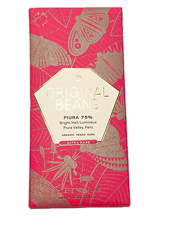 Organic Piura Porcelana 75% Dark Chocolate Bar by Original Beans