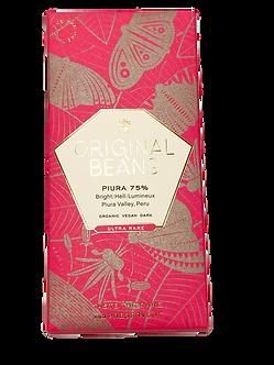 Organic Piura Porcelana 75% Dark Chocolate Bar by Original Beans