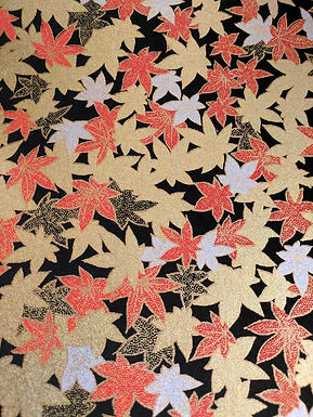 Maple Leaves #12 Chiyogami Full Sheet (18 x 24 inch)