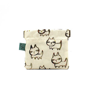 Rufus Coin Pouch by Curio Wolf