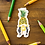 Thumbnail: Pineapple Lady Fruit Sticker by Harumo Bakery