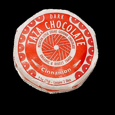 Organic Stone Ground Cinnamon 50% Dark Chocolate Discs by Taza Chocolate